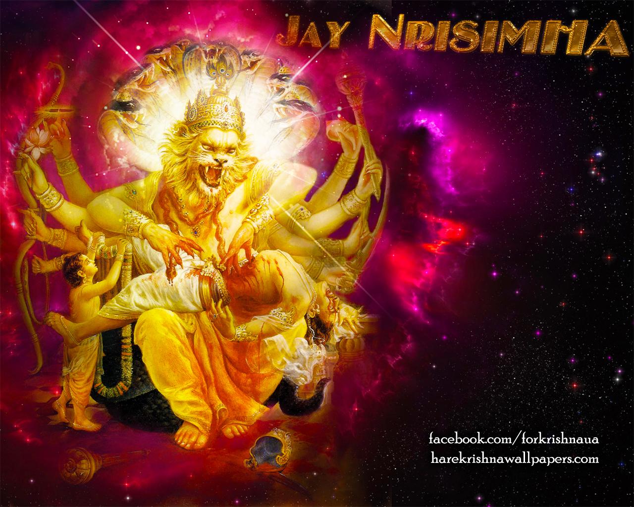 Sri Narasimha Deva Wallpaper (004) Size 1280x1024 Download
