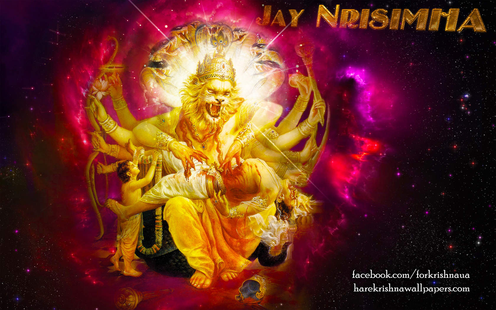 Sri Narasimha Deva Wallpaper (004) Size 1680x1050 Download