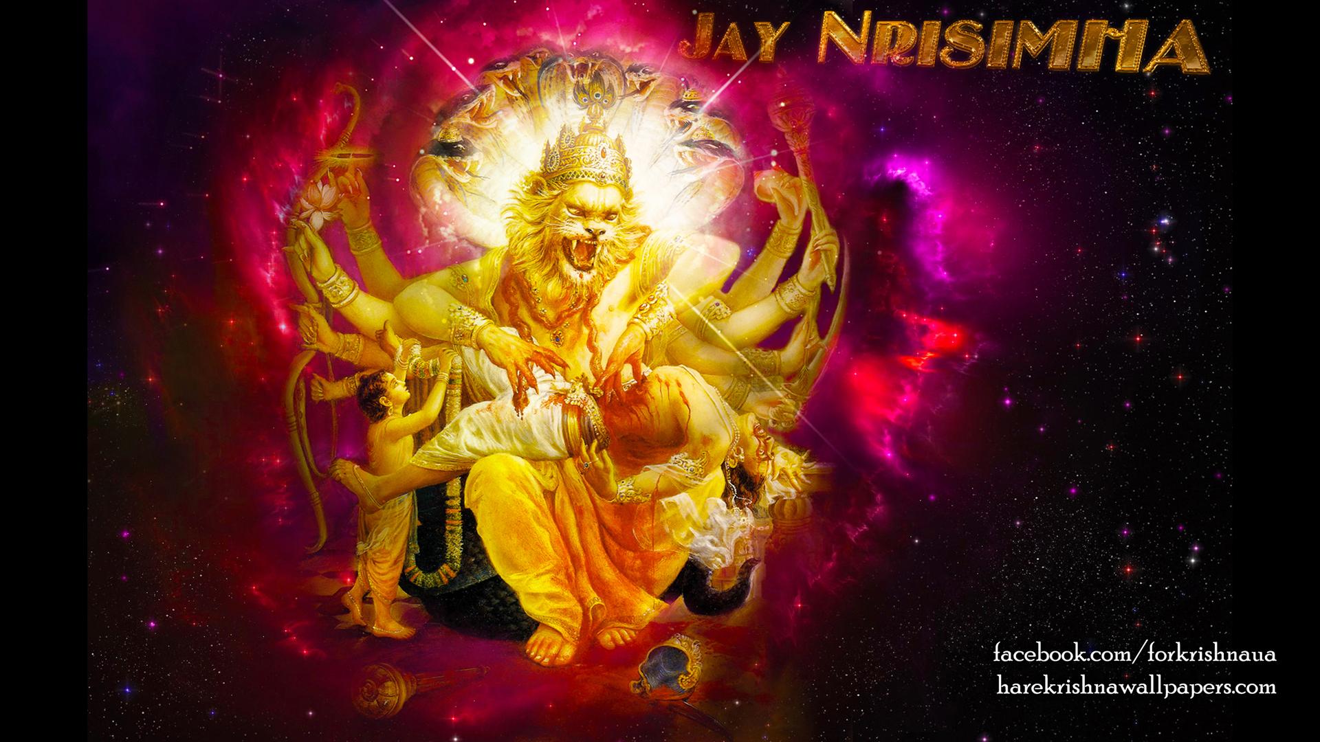 Sri Narasimha Deva Wallpaper (004) Size 1920x1080 Download