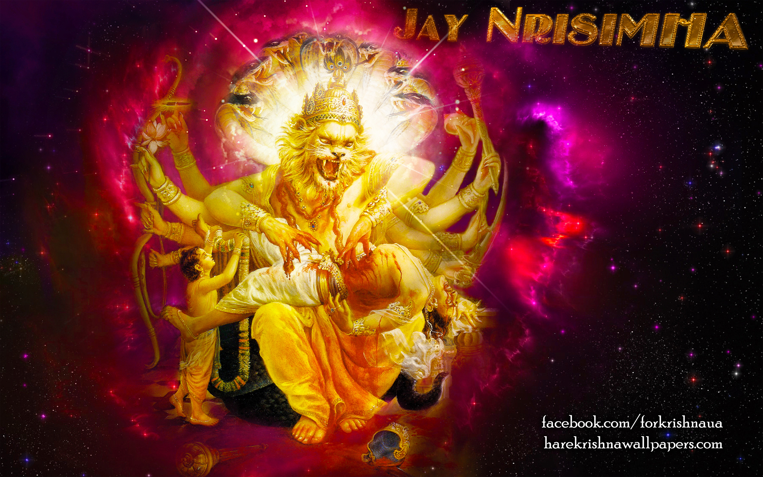 Sri Narasimha Deva Wallpaper (004) Size 2560x1600 Download