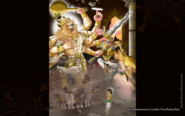 Sri Narasimha Deva Wallpaper (005) Size 1440x900 Download