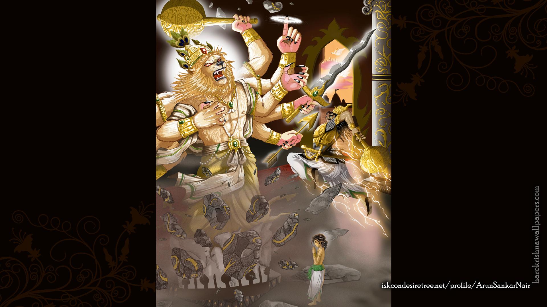 Sri Narasimha Deva Wallpaper (005) Size 1920x1080 Download