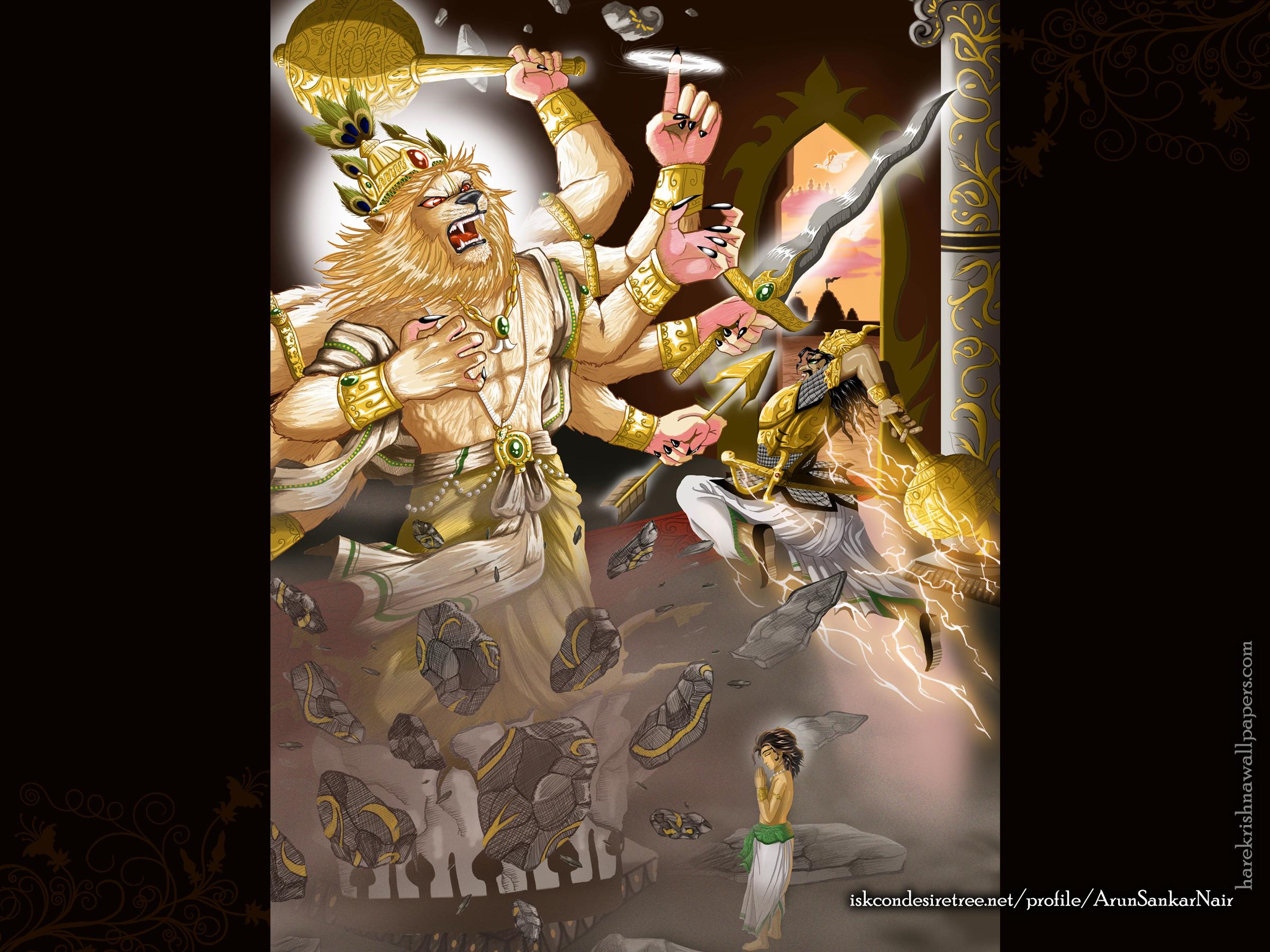 Sri Narasimha Deva Wallpaper (005) Size 2400x1800 Download