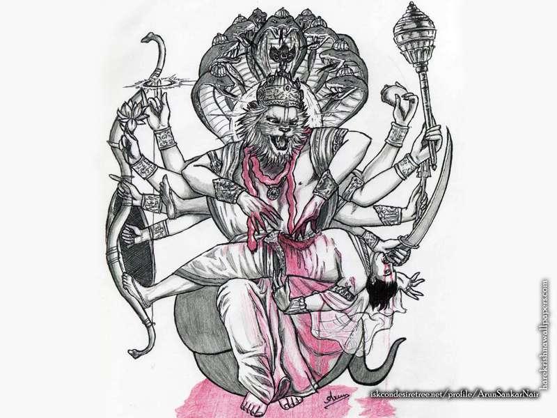 Sri Narasimha Deva Wallpaper, Wallpapers free download