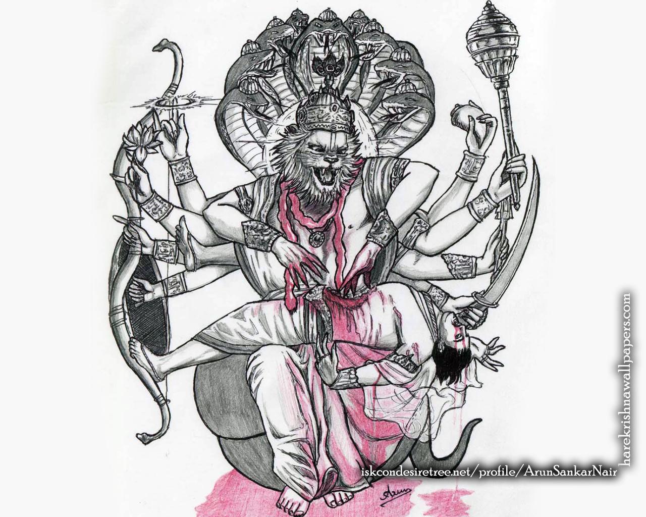 Sri Narasimha Deva Wallpaper (006) Size 1280x1024 Download