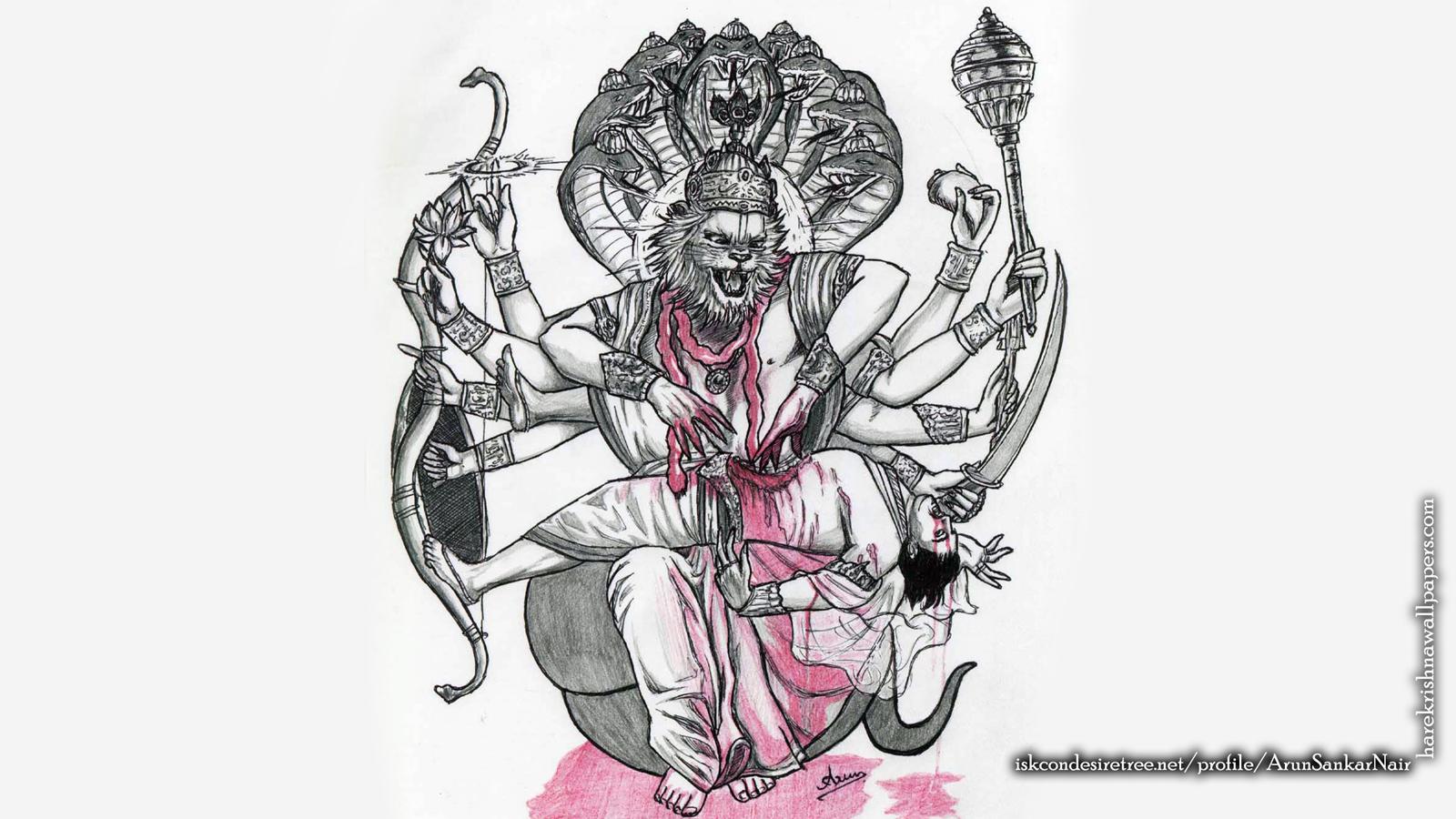Sri Narasimha Deva Wallpaper (006) Size 1600x900 Download