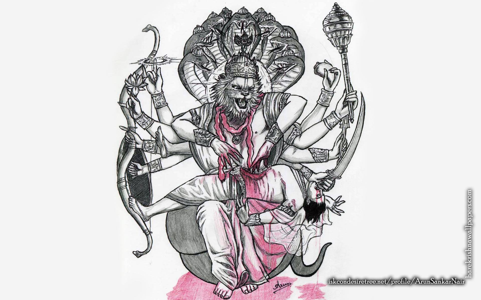 Sri Narasimha Deva Wallpaper (006) Size 1920x1200 Download