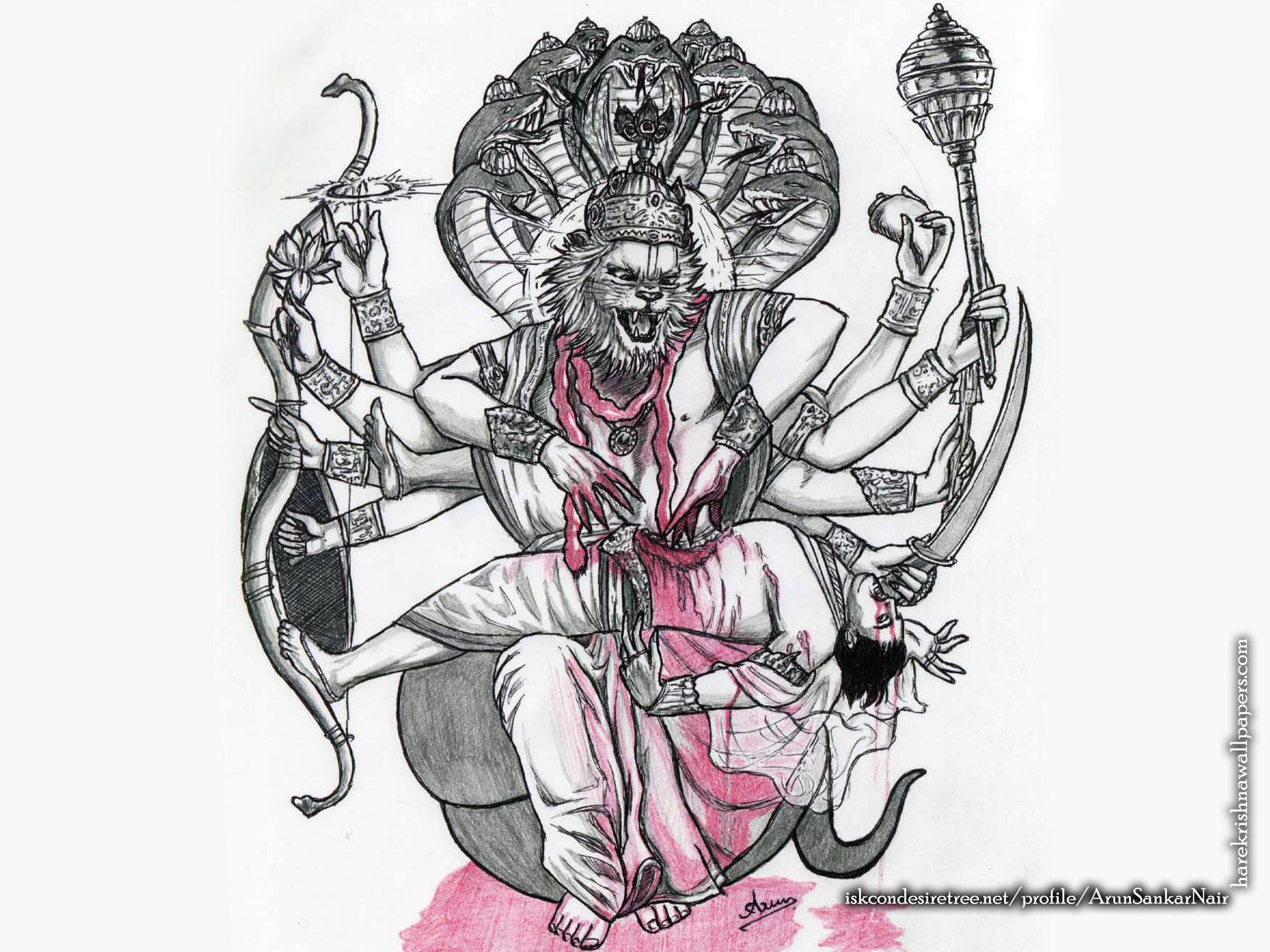 Sri Narasimha Deva Wallpaper (006) Size 2400x1800 Download
