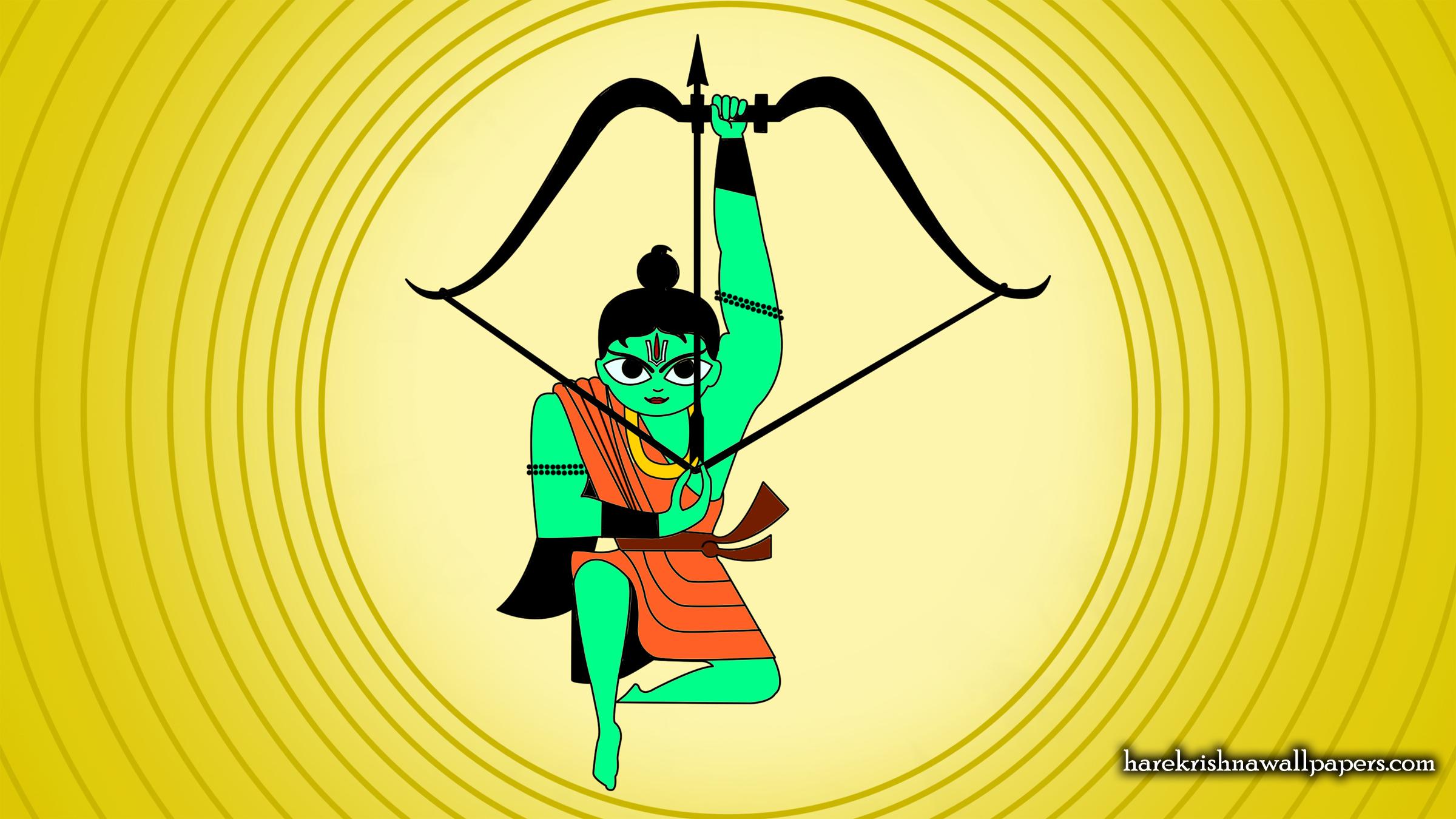 Sri Rama Wallpaper (001) Size 2400x1350 Download