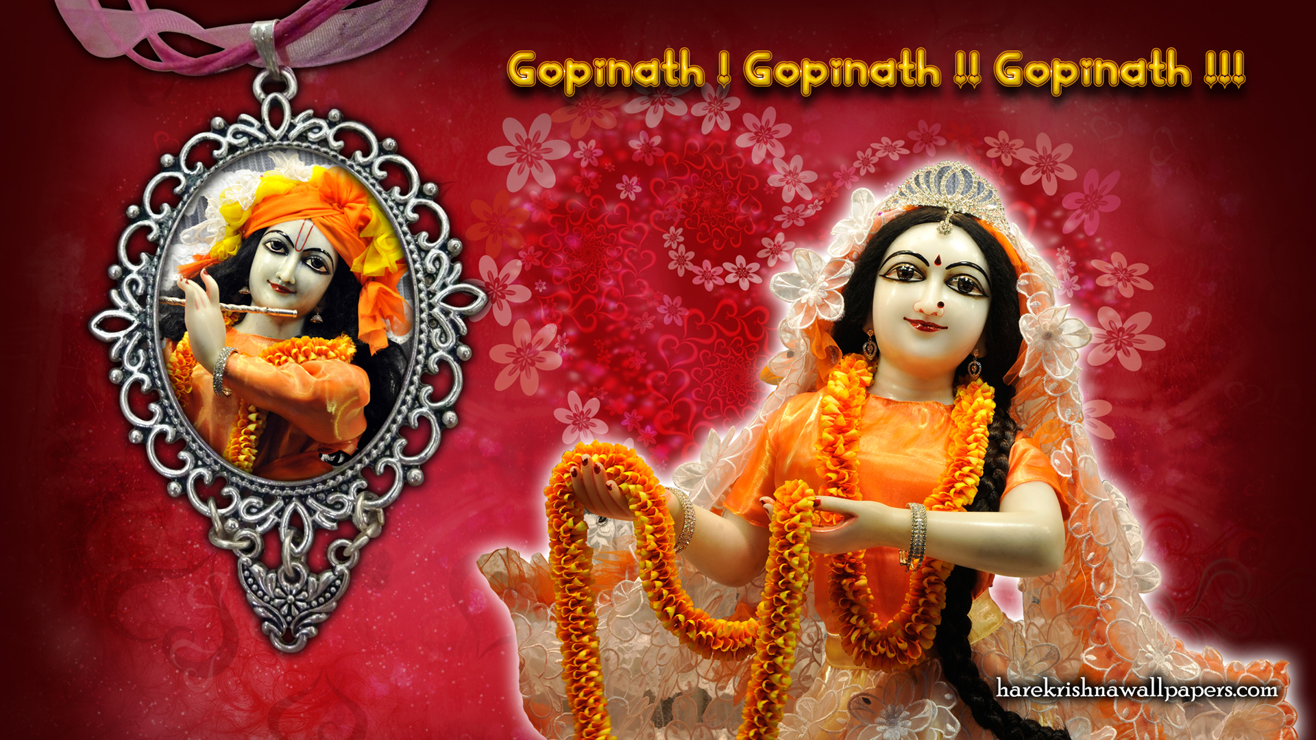 Sri Sri Radha Gopinath Wallpaper (001) Size 1920x1080 Download