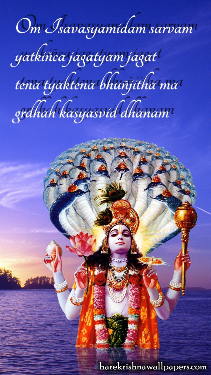 Sri Vishnu Wallpaper (001) Size 675x1200 Download