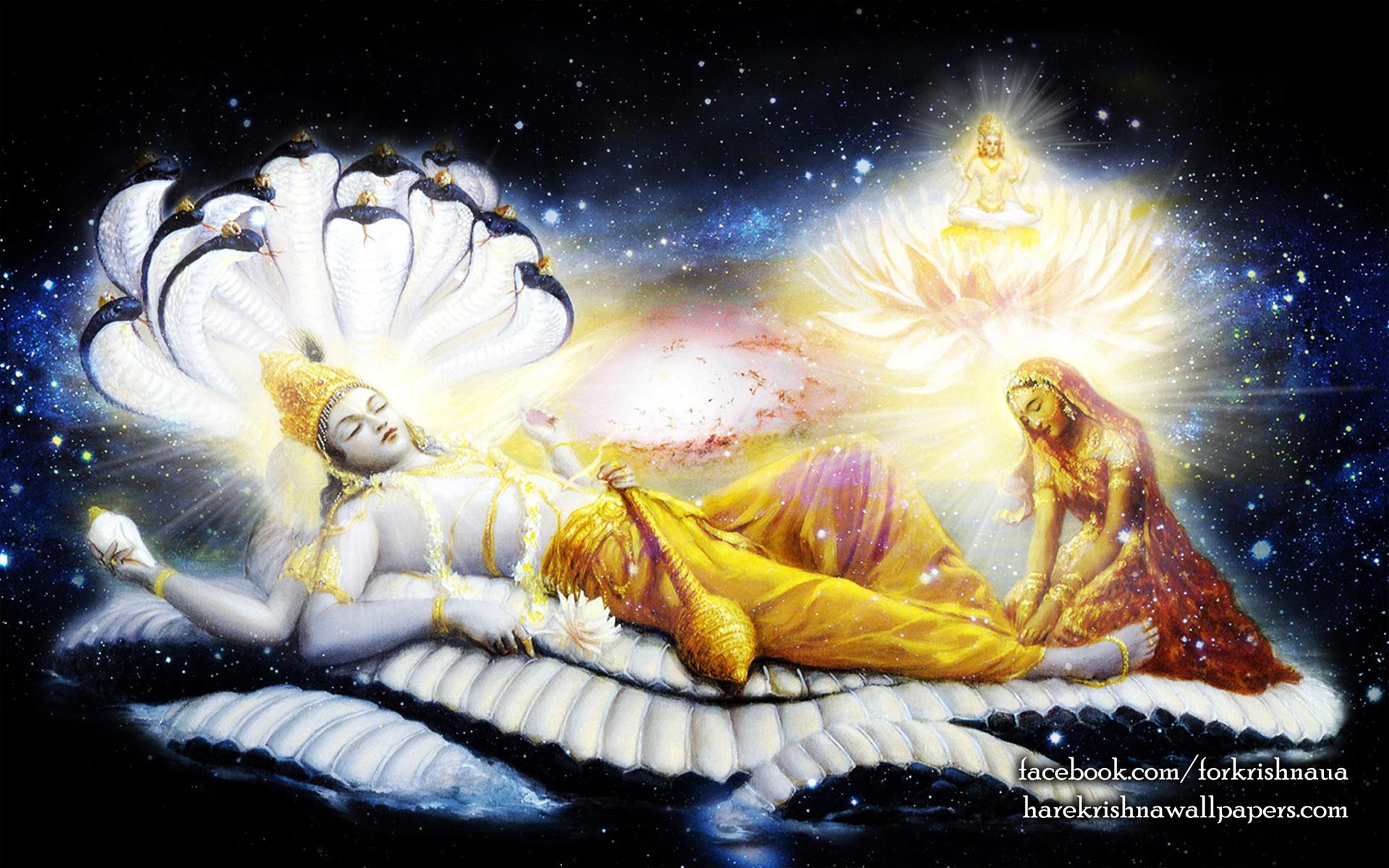 Sri Vishnu Wallpaper (002) Size 1920x1200 Download