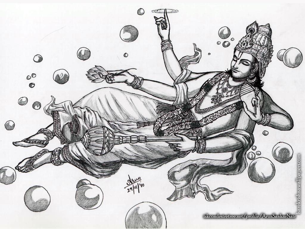 Sri Vishnu Wallpaper (003) Size 1024x768 Download