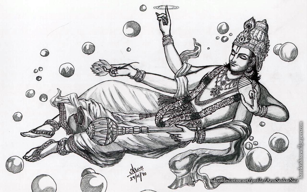 Sri Vishnu Wallpaper (003) Size 1280x800 Download