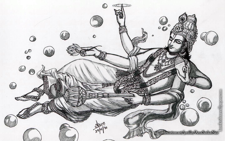 Sri Vishnu Wallpaper (003) Size 1440x900 Download