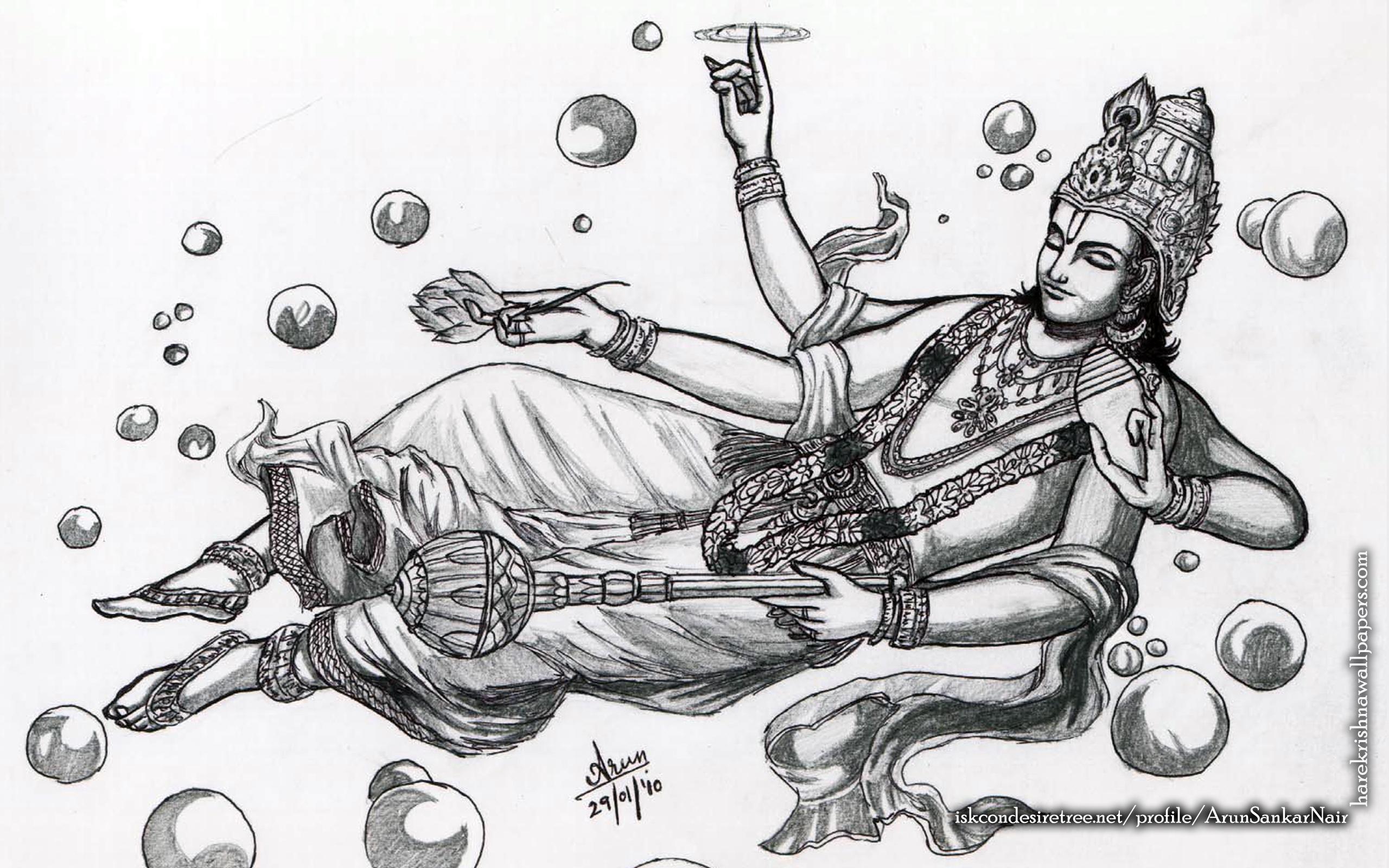 Sri Vishnu Wallpaper (003) Size 2560x1600 Download
