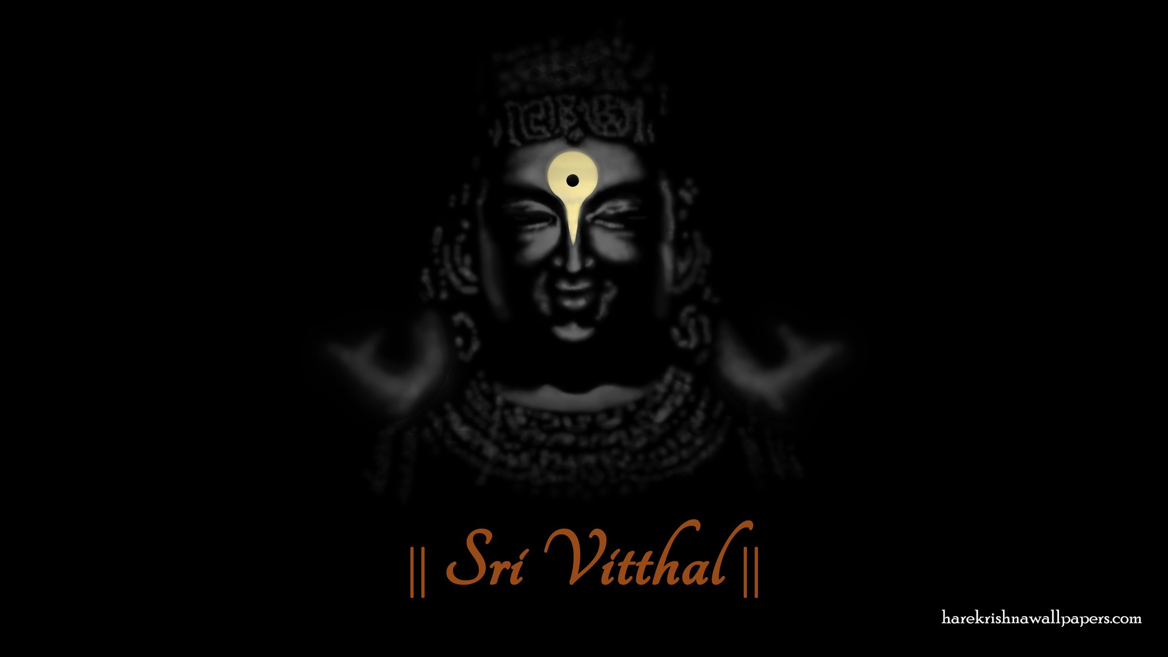 Sri Vitthal Wallpaper (001) Size 2400x1350 Download