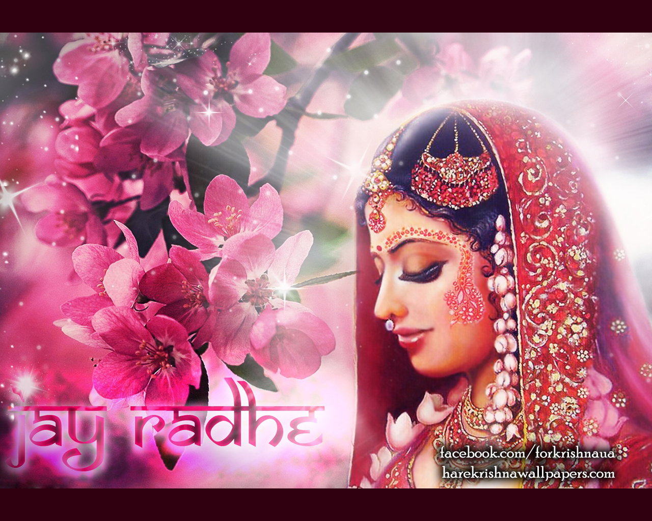 Srimati Radharani Wallpaper (002) Size 1280x1024 Download
