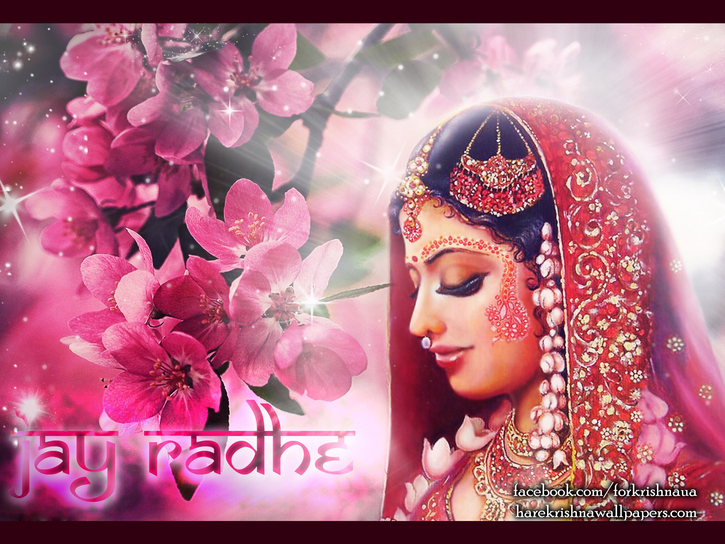 Srimati Radharani Wallpaper (002) Size 2400x1800 Download