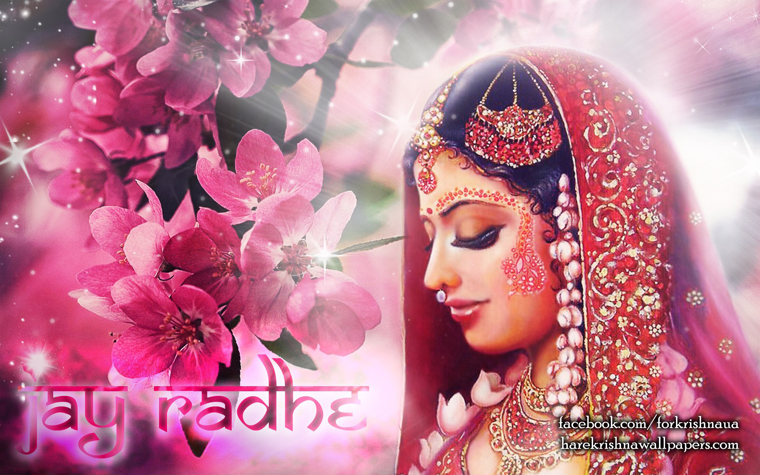 Srimati Radharani Wallpaper (002) Size 2560x1600 Download