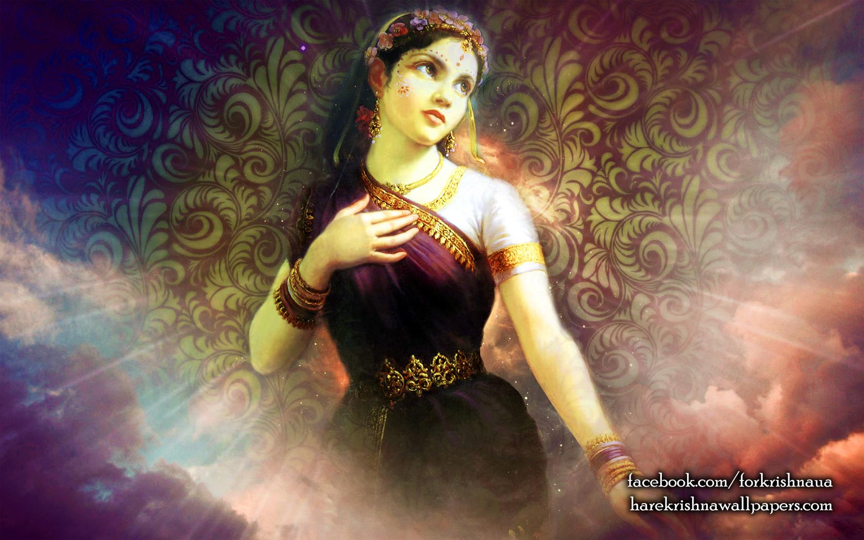 Srimati Radharani Wallpaper (003) Size 1680x1050 Download