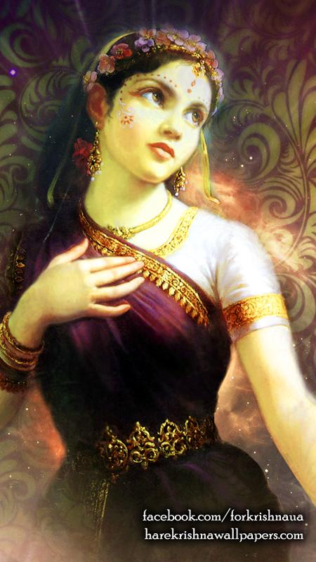 Srimati Radharani Wallpaper (003) Size 450x800 Download