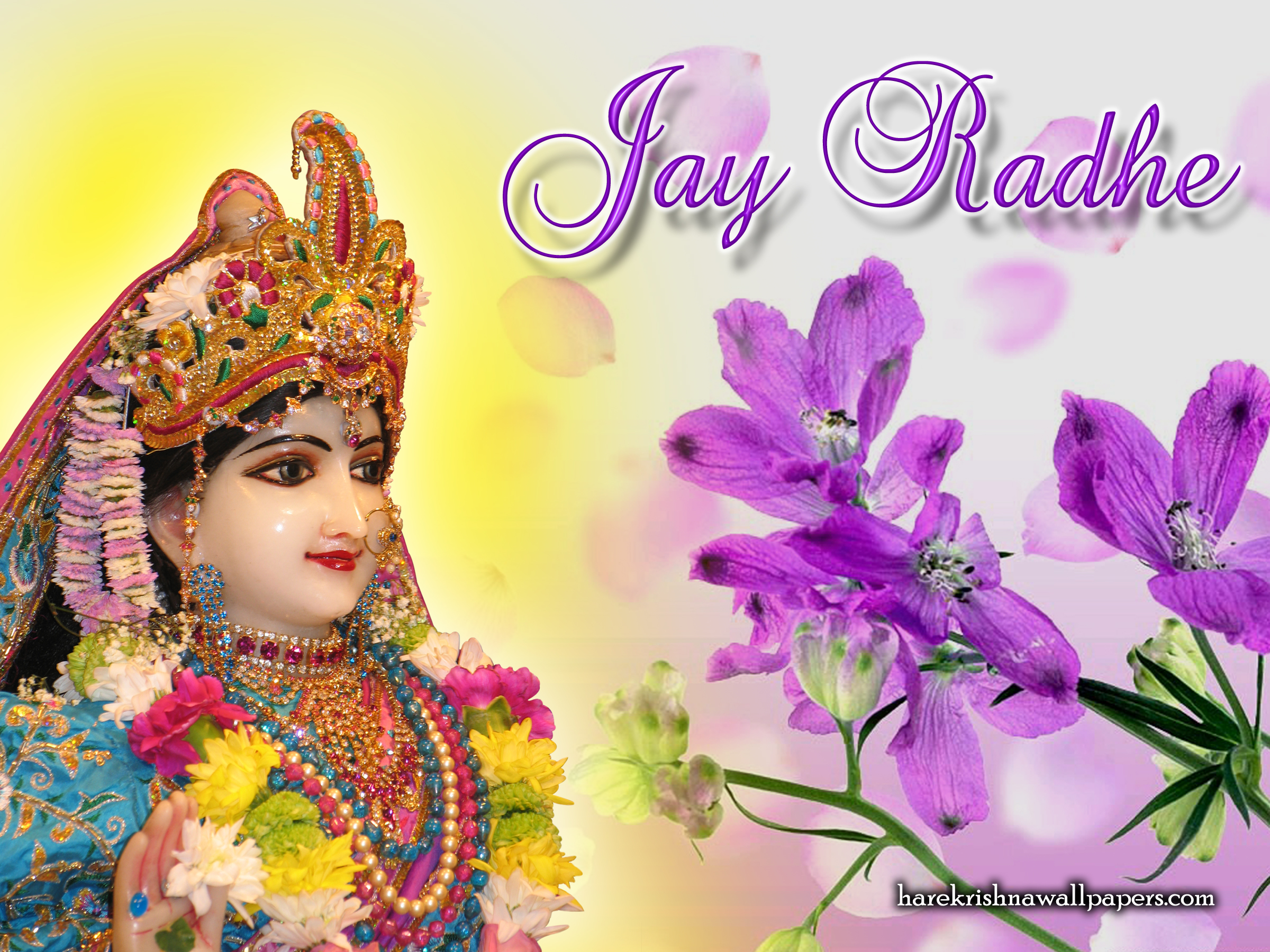 Srimati Radharani Wallpaper (004) Size 2400x1800 Download