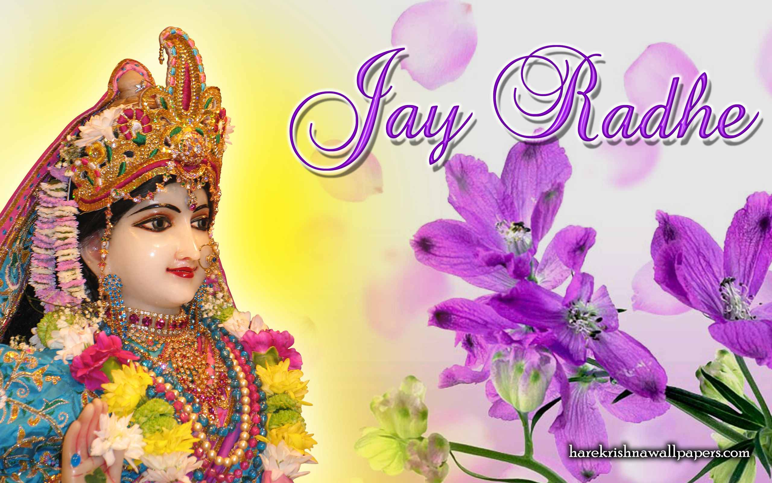 Srimati Radharani Wallpaper (004) Size 2560x1600 Download