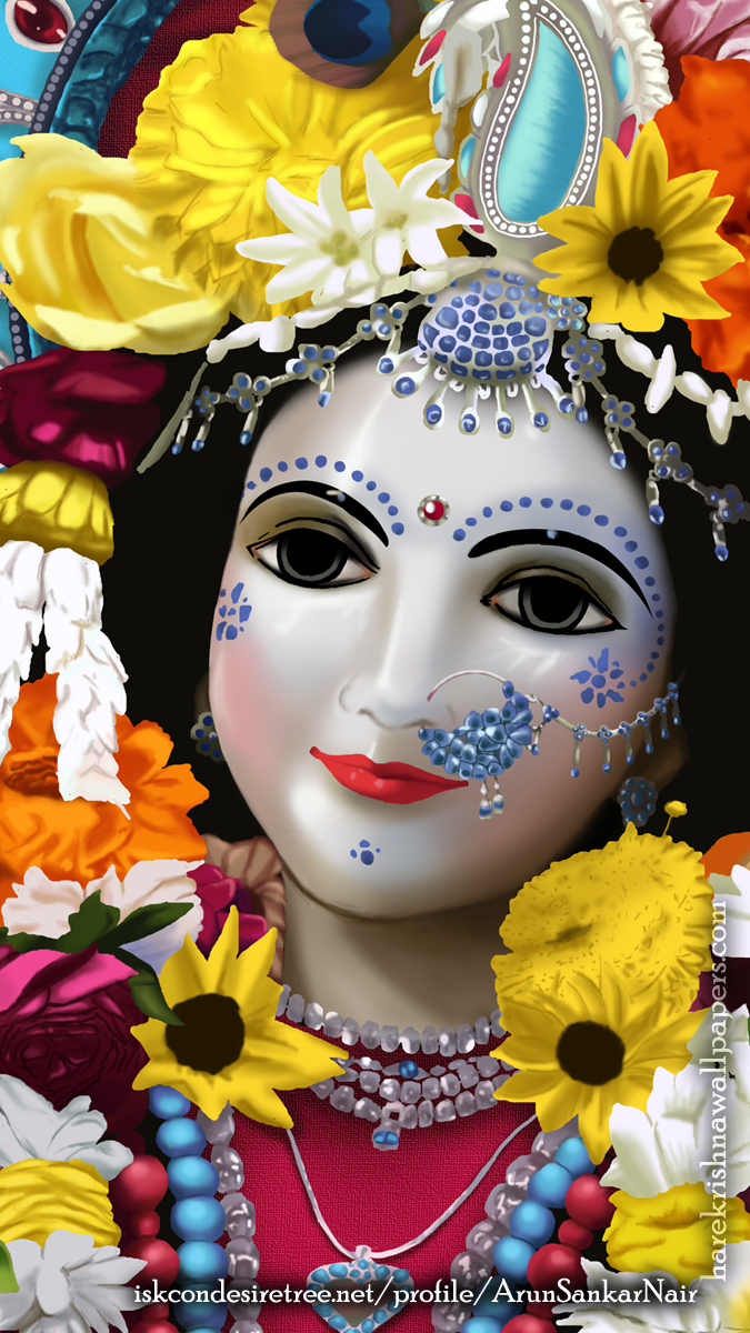 Srimati Radharani Wallpaper (005) Size 675x1200 Download