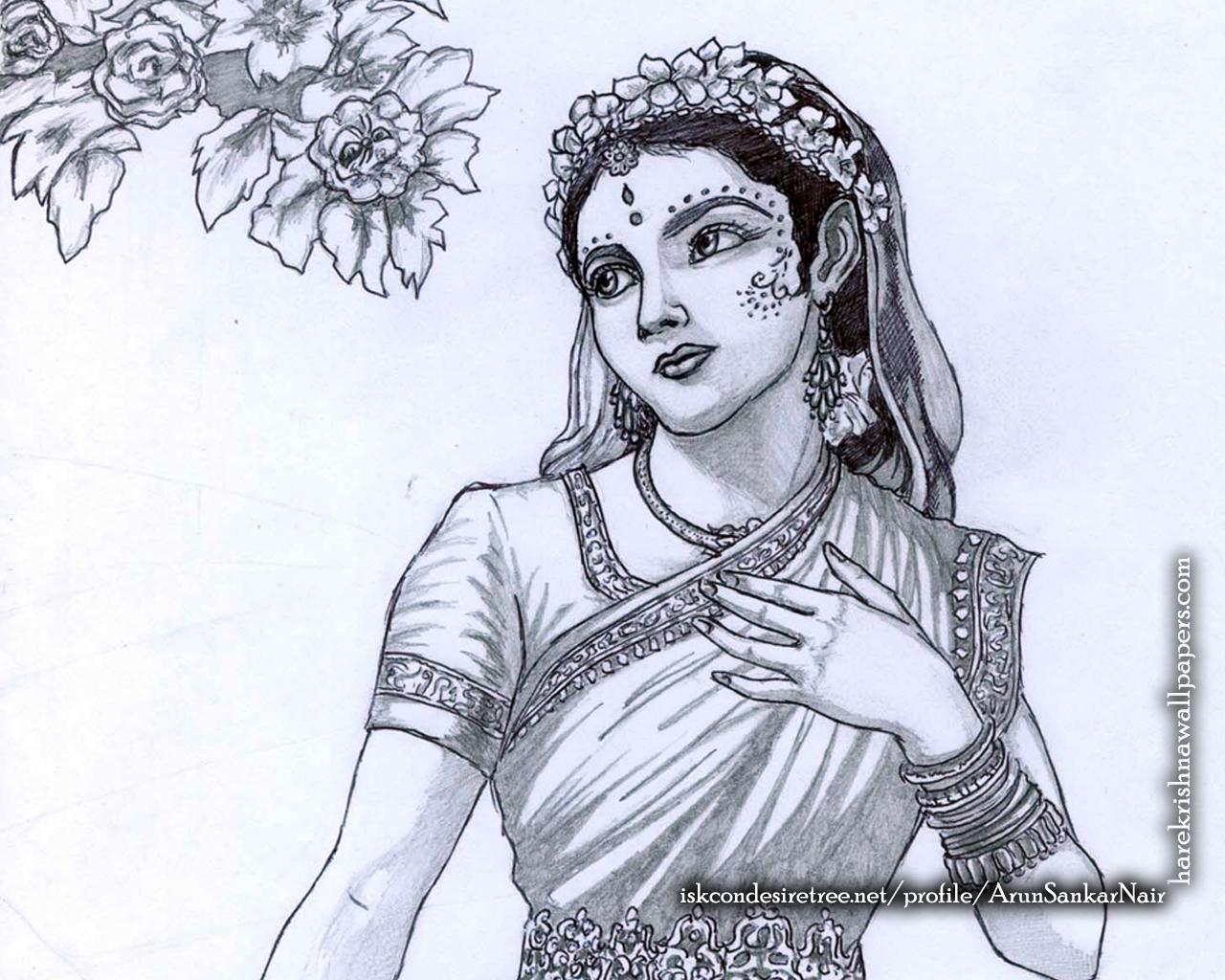 Srimati Radharani Wallpaper (006) Size 1280x1024 Download