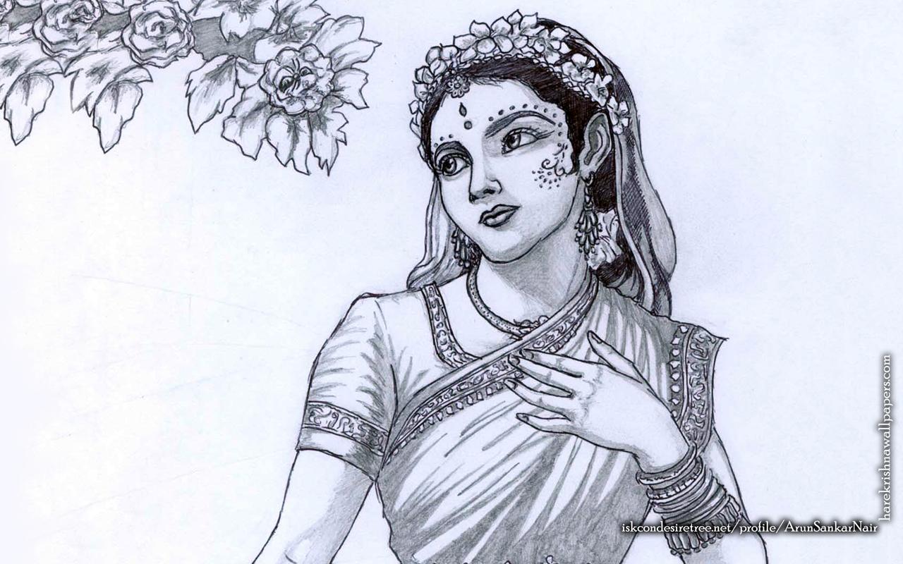 Srimati Radharani Wallpaper (006) Size 1280x800 Download