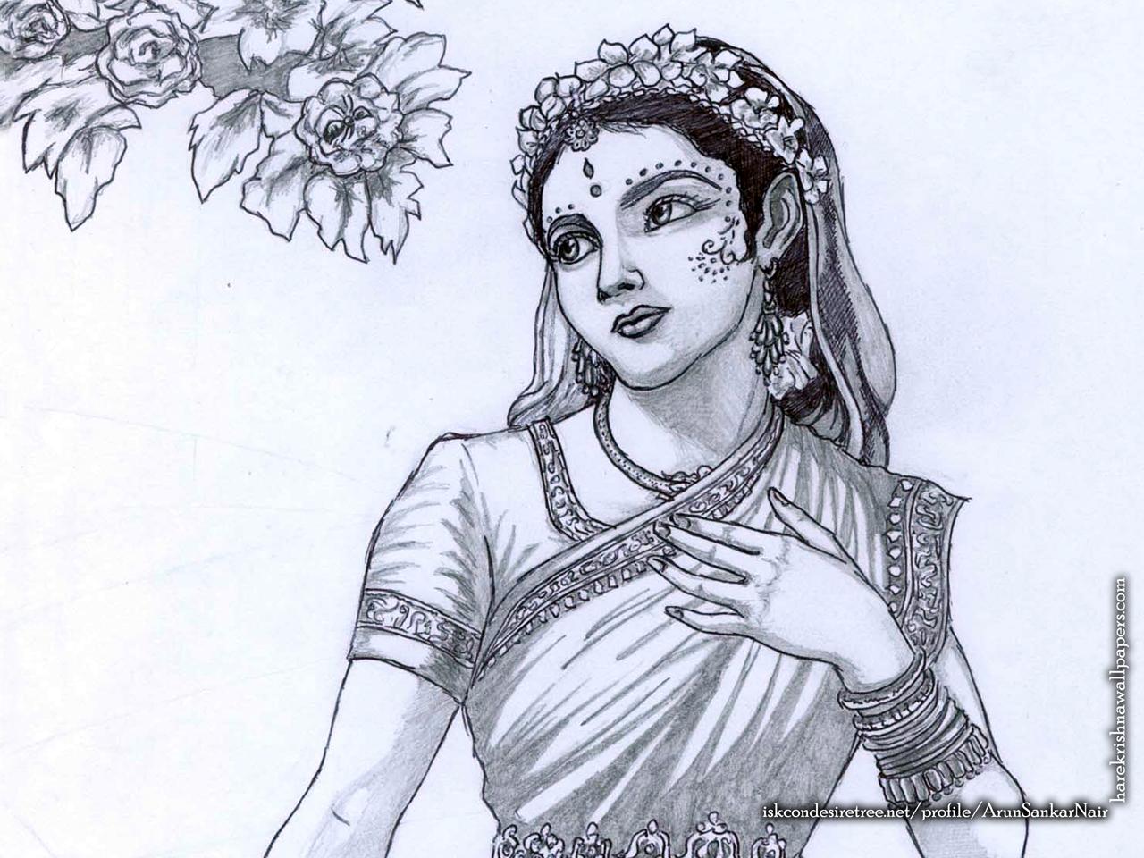 Srimati Radharani Wallpaper (006) Size 1280x960 Download