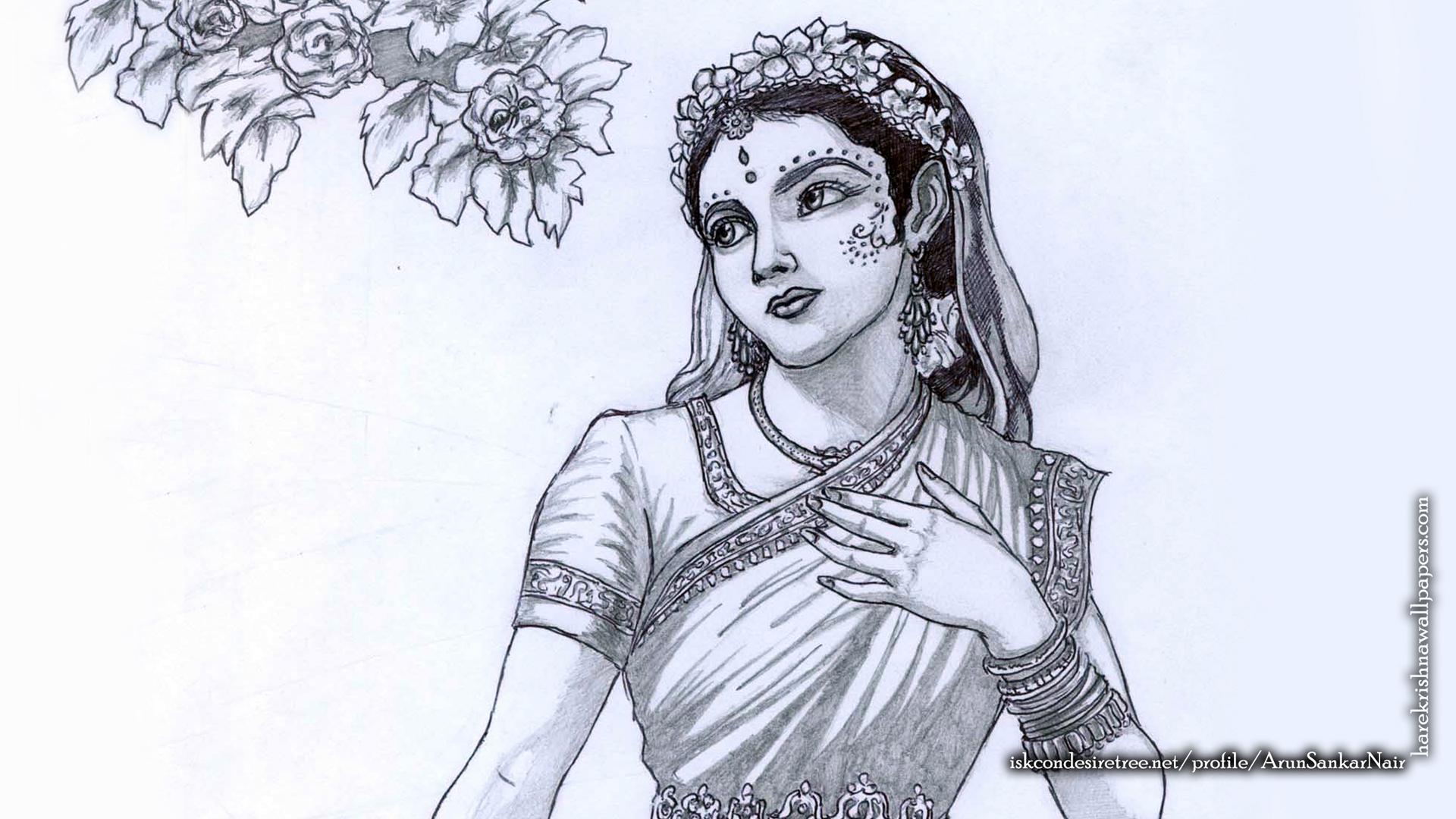 Srimati Radharani Wallpaper (006) Size 1920x1080 Download