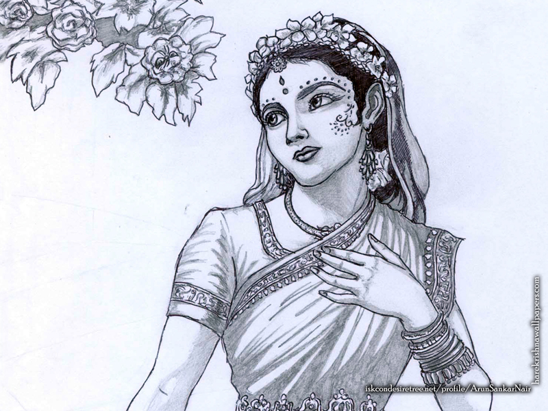 Srimati Radharani Wallpaper (006) Size 800x600 Download