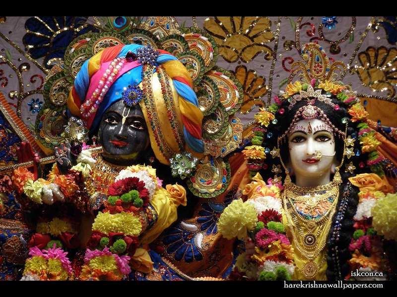 Sri Sri Radha Khirachora Gopinath Close up Wallpaper (001)