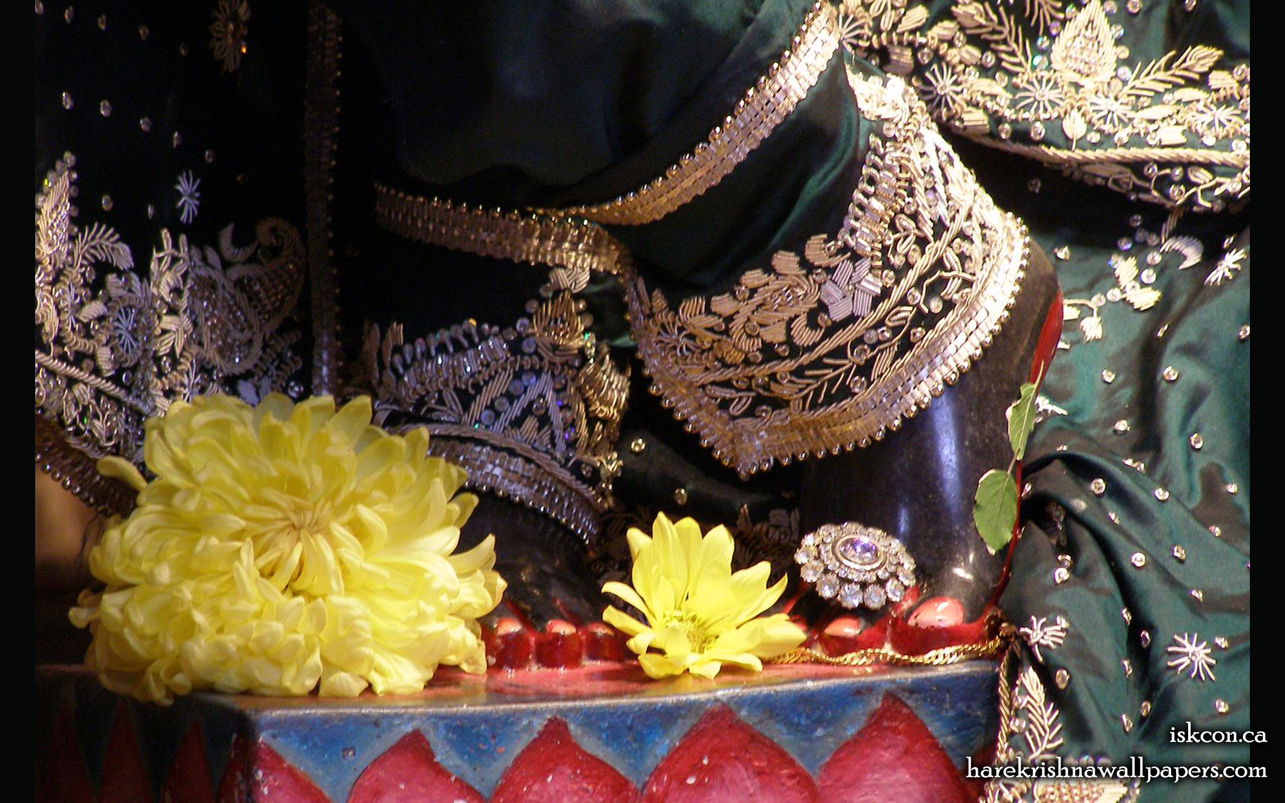 Sri Khirachora Gopinath Feet Wallpaper (002) Size 2560x1600 Download