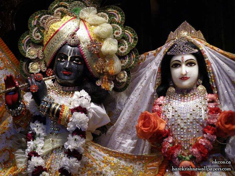 Sri Sri Radha Khirachora Gopinath Close up Wallpaper (002)
