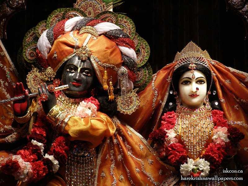 Sri Sri Radha Khirachora Gopinath Close up Wallpaper (003)