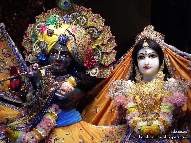 Sri Sri Radha Khirachora Gopinath Close up Wallpaper (008)