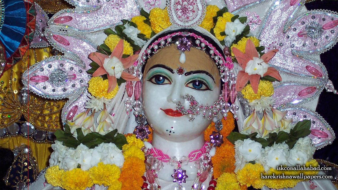 Sri Radha Close up Wallpaper (001) Size1280x720 Download