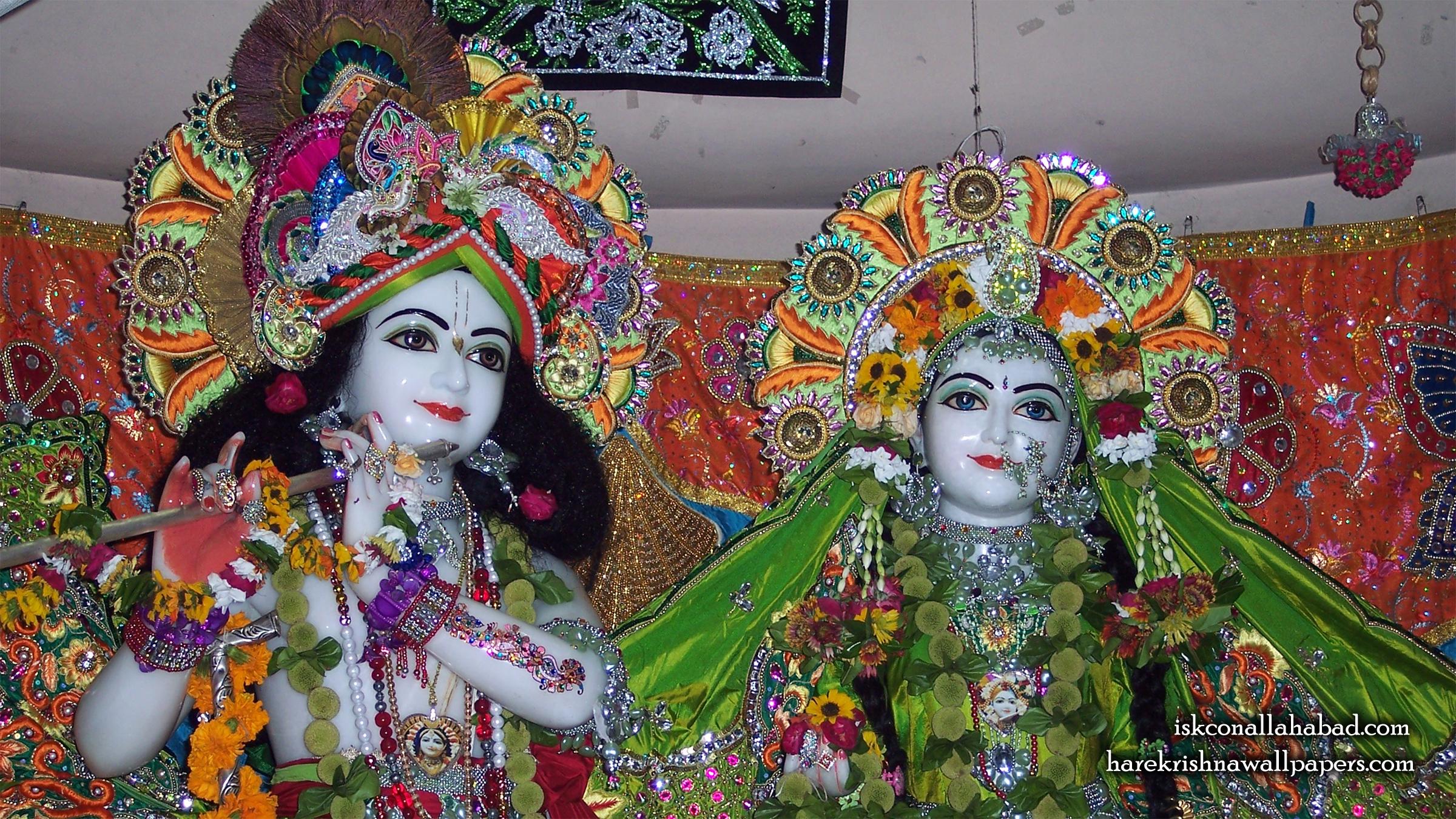 Sri Sri Radha Venimadhava Close up Wallpaper (001) Size 2400x1350 Download