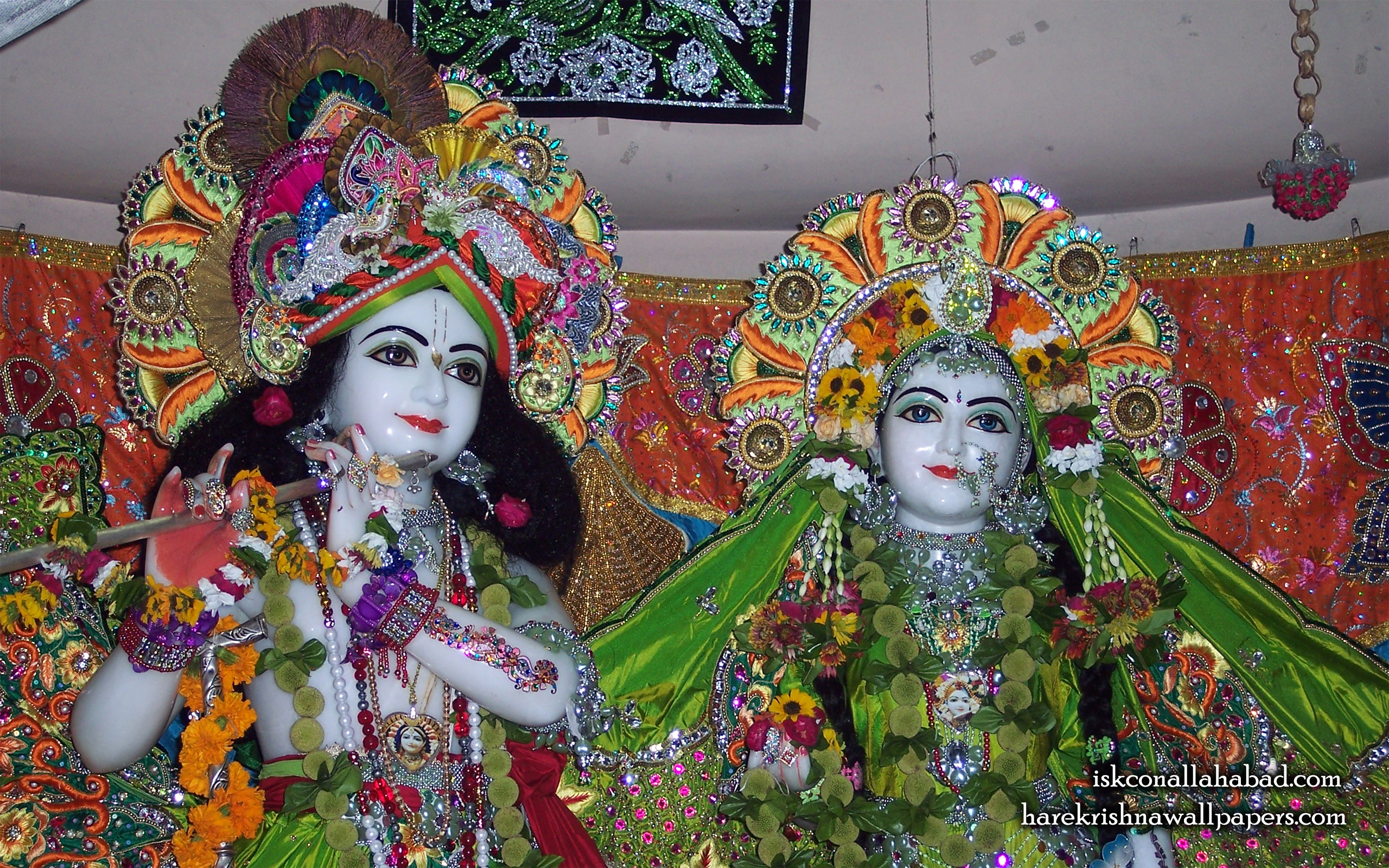 Sri Sri Radha Venimadhava Close up Wallpaper (001) Size 2560x1600 Download