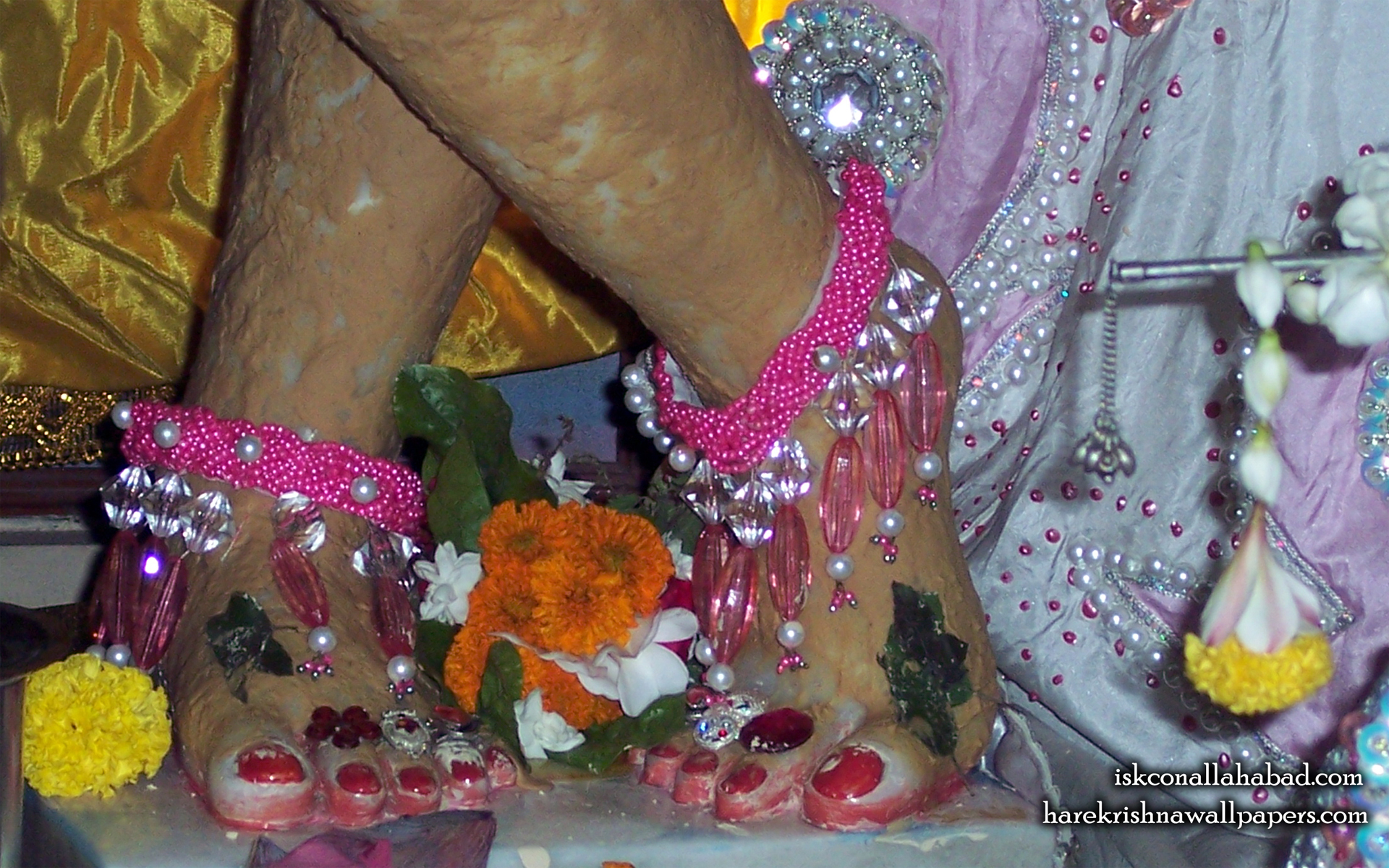 Sri Venimadhava Feet Wallpaper (001) Size 1920x1200 Download