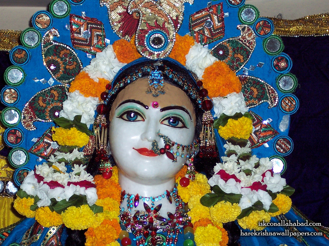 Sri Radha Close up Wallpaper (002) Size 1152x864 Download