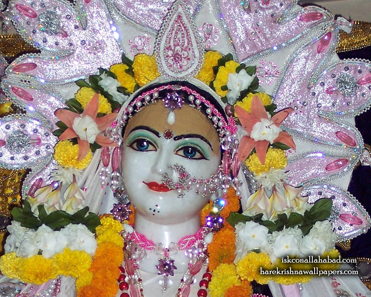 Sri Radha Close up Wallpaper (003) Size 1280x1024 Download