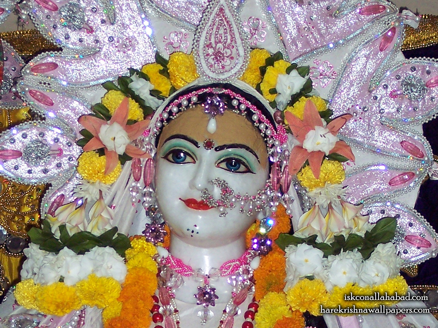 Sri Radha Close up Wallpaper (003) Size 1400x1050 Download