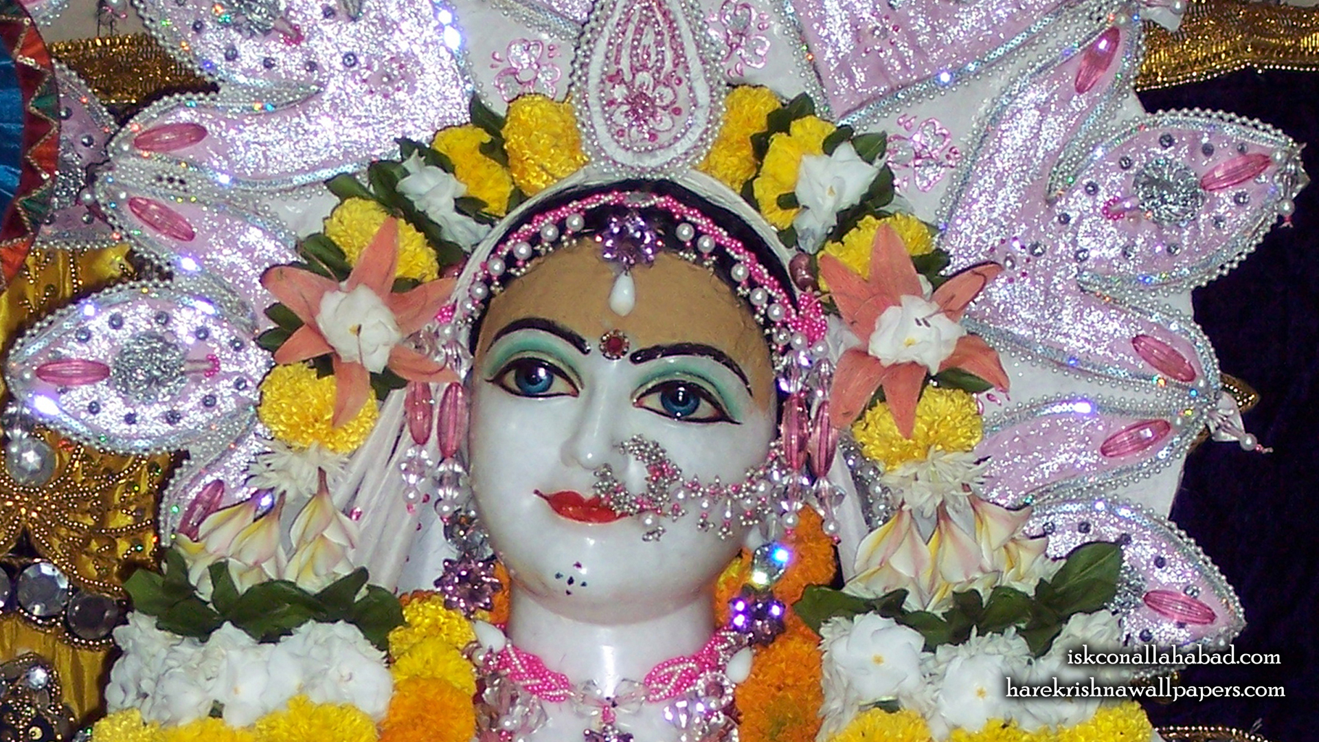 Sri Radha Close up Wallpaper (003) Size 1920x1080 Download