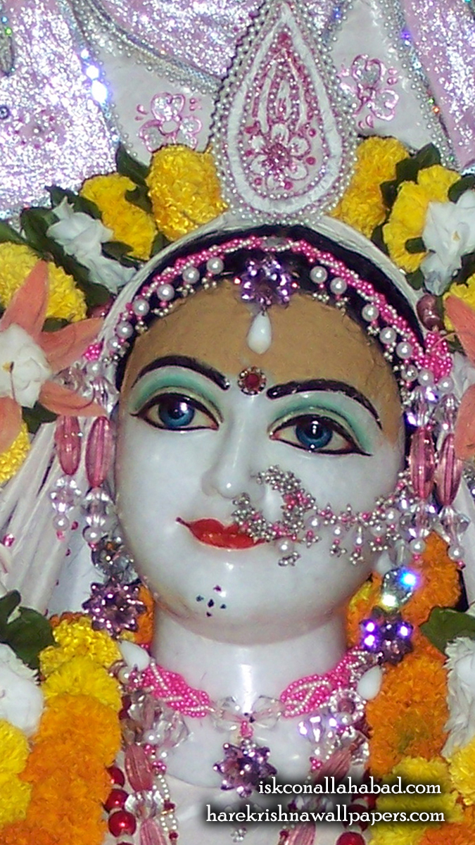 Sri Radha Close up Wallpaper (003) Size 675x1200 Download