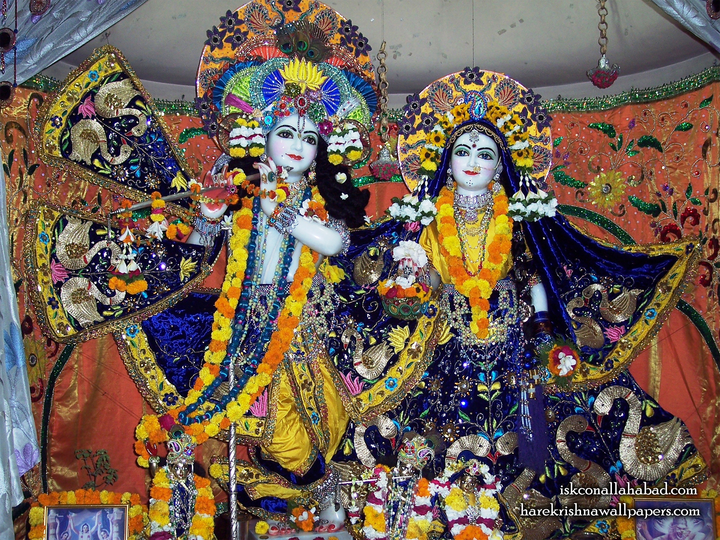 Sri Sri Radha Venimadhava Wallpaper (003) Size 2400x1800 Download
