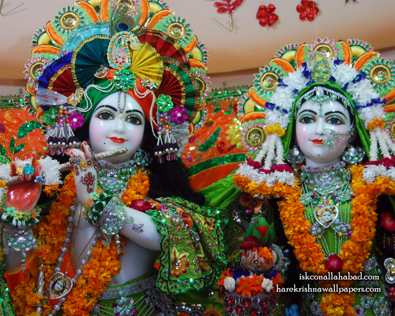 Sri Sri Radha Venimadhava Close up Wallpaper (003) Size 1280x1024 Download